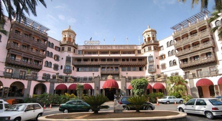 El icónico hotel Santa Catalina en Las Palmas de Gran Canaria