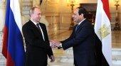 Putin y Abdel Fatah al Sisi estrechan relaciones