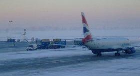 Nevada en los aeropuertos obliga a cancelar vuelos