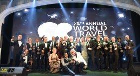 Premiados durante los World Travel Awards