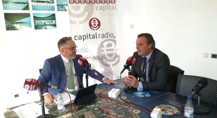 Rafael Gallego, presidente de CEAV con Ignacio Moll