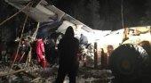 Avion estrellado en Canadá