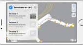 Apple Maps ofrecerá información sobre 34 aeropuertos