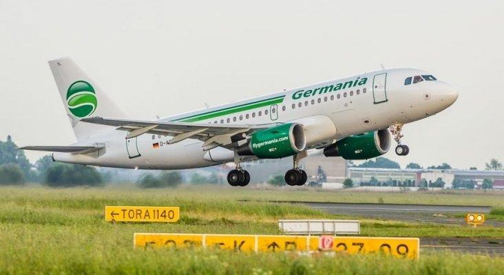 Avión de Germania