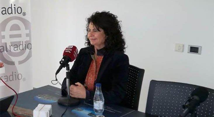 Matilde Asián, secretaria de Estado de Turismo, durante una entrevista en Capital Radio
