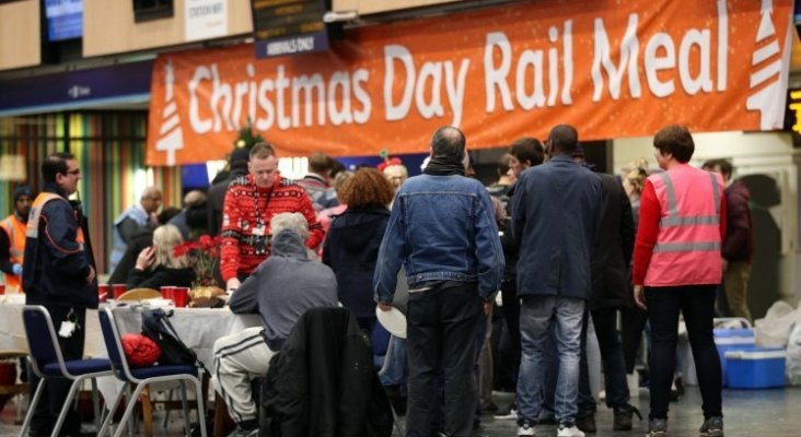 Cena de Navidad en Euston