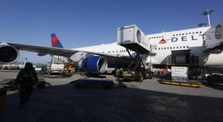 El último Boeing 747 de Delta Air Lines