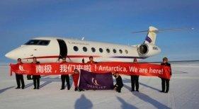 Llegada de Deer Jet a Antártida