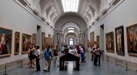 Museo del Prado, uno de los principales museos españoles. Foto de Telemadrid