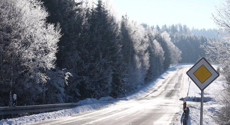 Asfalto caliente para carreteras de montaña