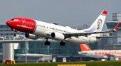 Avión de Norwegian. Foto de El Economista