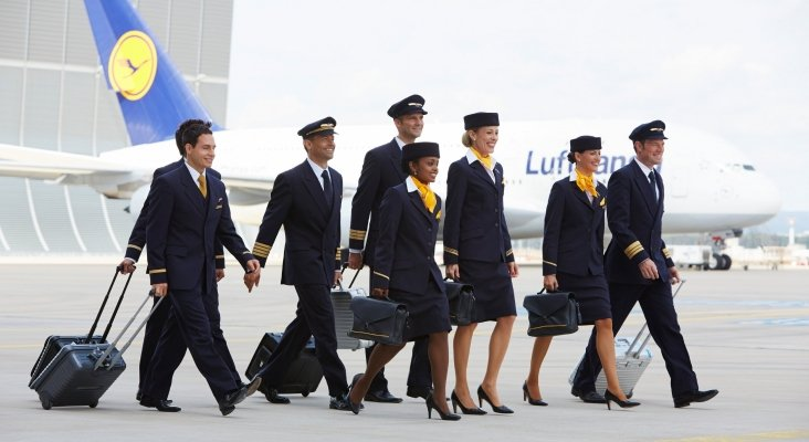Tripulación de cabina, Lufthansa