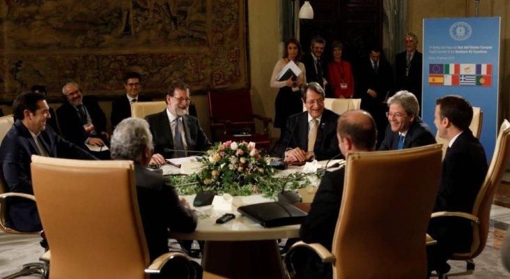 Reunión líderes de Europa del Sur, objetivo blindar el Mediterráneo