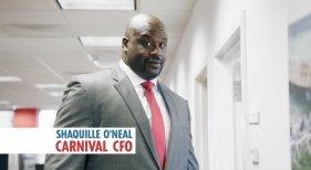 Shaquille O'Neal se convierte en CFO de Carnival Cruise