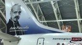 Primer avión de Norwegian en Argentina