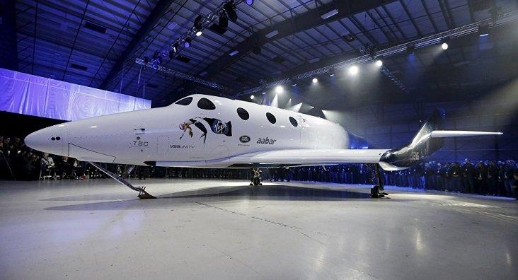 Astronave para turismo espacial