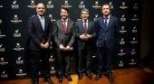 Vicente Dorta, Carlos Alonso, Alberto Bernabé y Jesús Morales Martínez