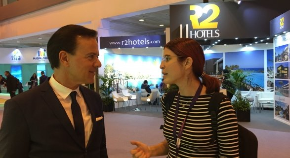 Hans Müller (Thomas Cook) y Amor Alonso (Tourinews)