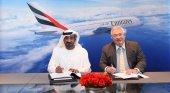 Emirates realiza un nuevo pedido de A380