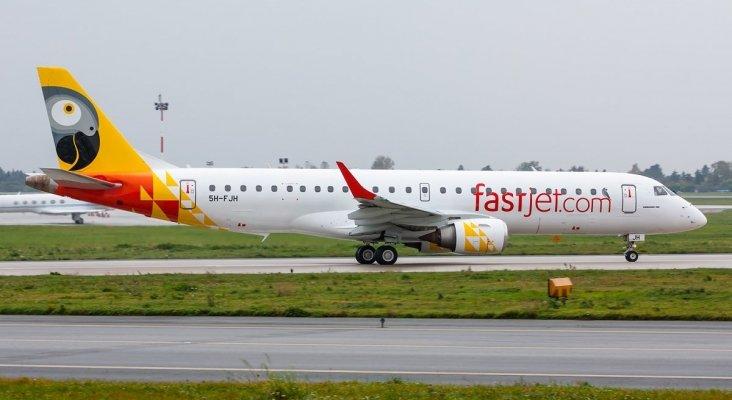 Embraer de Fastjet