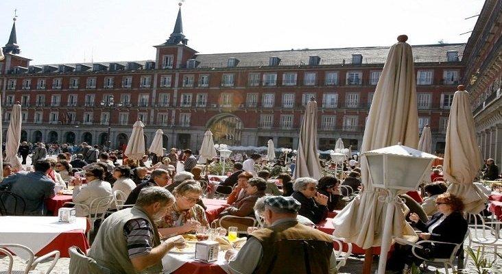 Turistas en España. Foto de Marca España
