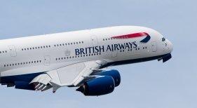 A380 de British Airways