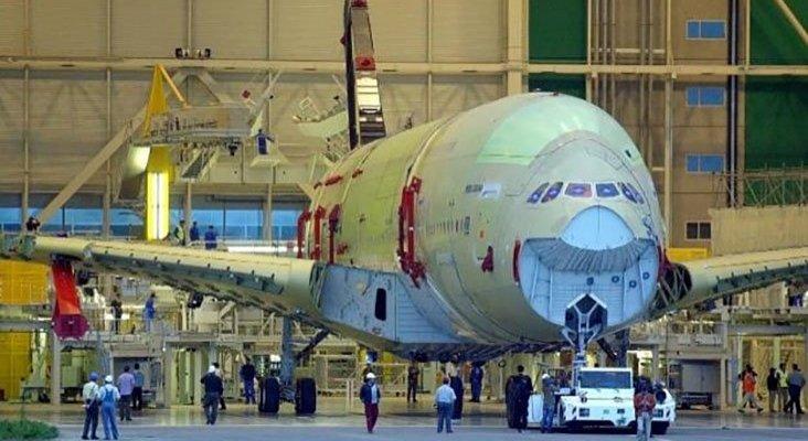 Construcción del Airbus A380