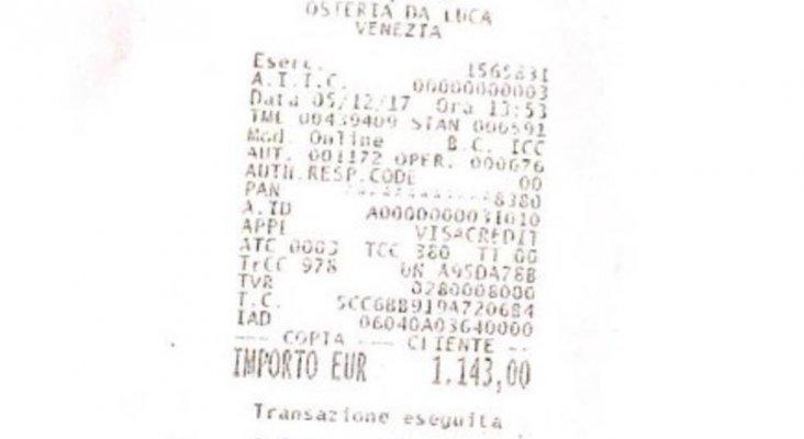 Polémica por los altos precios para comer un menú en Venecia