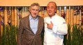Robert de Niro y Nobu Matsuhisa