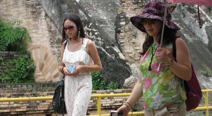 Turistas chinas