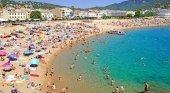 Turistas en Girona