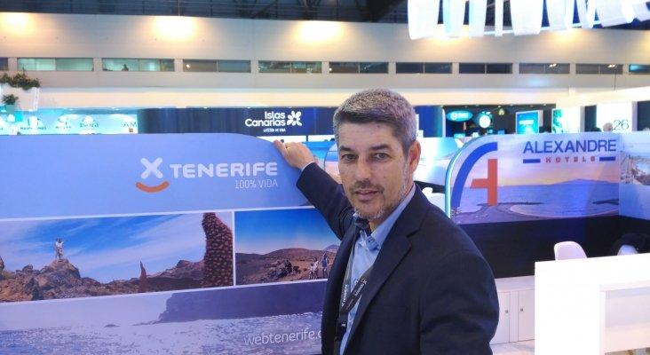 Alberto Bernabé, consejero de Turismo del Cabildo de Tenerife
