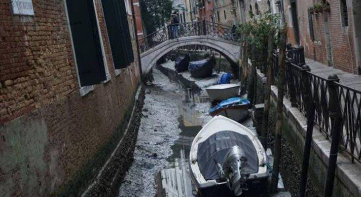 Canales secos de Venecia