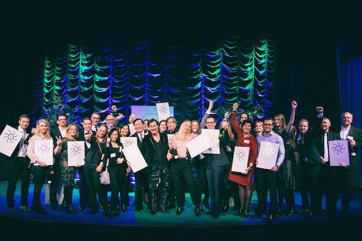 Ganadores de los Grand Travel Awards 2017 de Suecia