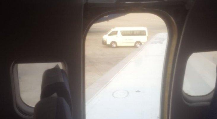 Puerta de emergencia de Dana Air