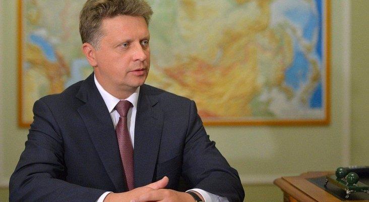 Maxim Sokolov, ministro de Transporte de Rusia