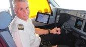 Capitán JJ Burrows de Virgin Atlantic. Foto del blog de Virgin Atlantic