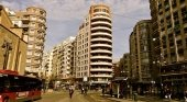 Calle en Valencia