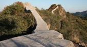 La restauración de la Gran Muralla con cemento indigna a los chinos