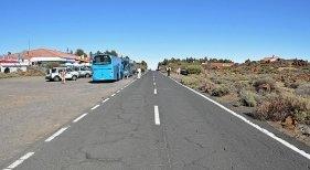 Guaguas con guías turísticos en Tenerife