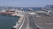 500 metros de la costa de Algeciras afectados por un derrame de petróleo