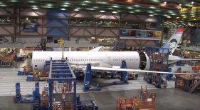 Boeing en construcción