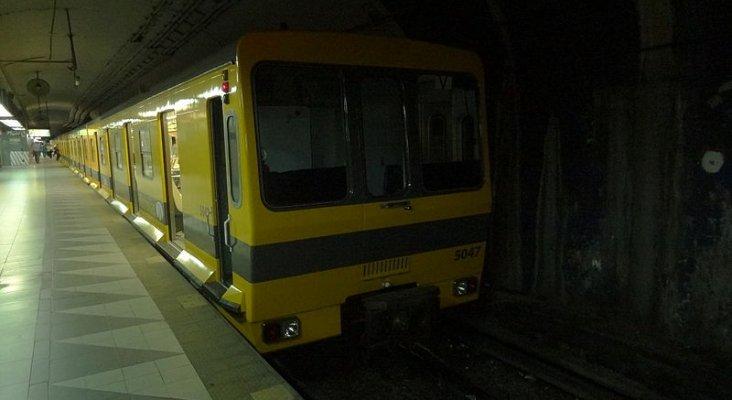 Tren Caf 5000 en Buenos Aires