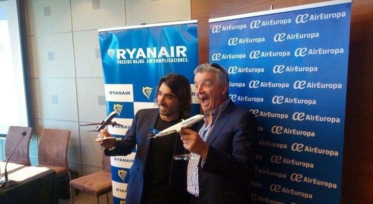 Alianza Ryanair Air Europa. Foto de Vozpópuli