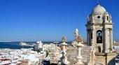 Vista desde la Torre de Poniente en Cádiz