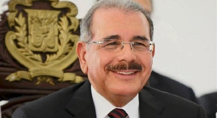 Danilo Medina, presidente de Dominicana. Foto de El Caribe