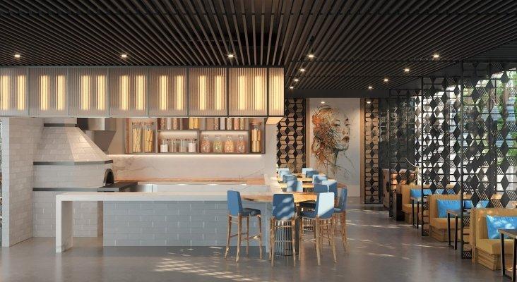 Bar del nuevo hotel