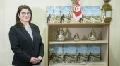 Mounira Derbel, directora Oficina Nacional de Turismo de Túnez