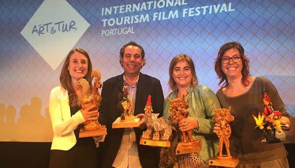 Islas Canarias, la marca más premiada en el IX Festival Art&Tur de Oporto