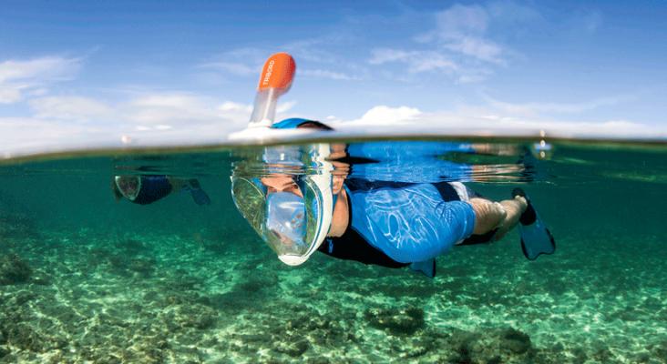 Máscara de snorkel Fuente: Snorkel y Buceo